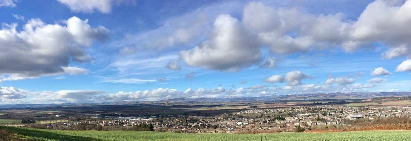 View from Balmashanner